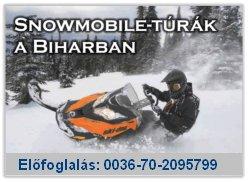 Snowmobile túrák Erdélyben